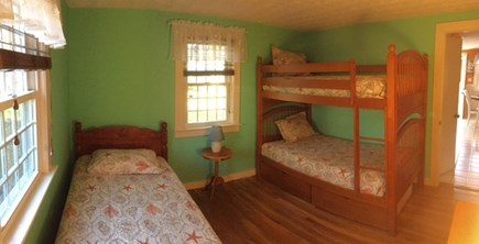 South Yarmouth Cape Cod vacation rental - Beds in Back Bedroom