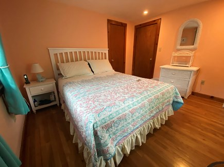 South Yarmouth Cape Cod vacation rental - Front bedroom with new queen bed