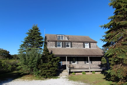 Truro Cape Cod vacation rental - Front of Home With Balcony Roof Deck