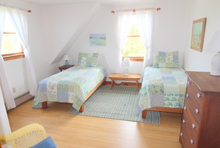 Truro Cape Cod vacation rental - Bedroom 3 - Two Twin Beds
