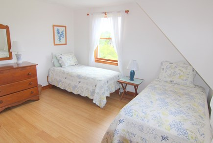 Truro Cape Cod vacation rental - Bedroom 4 - Two Twin Beds