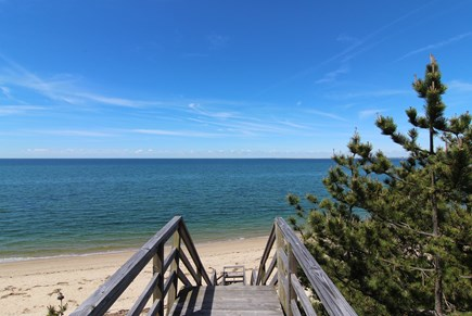 Truro Cape Cod vacation rental - Short Walk To Beach - Shared Private Stairs & Private Bay Beach