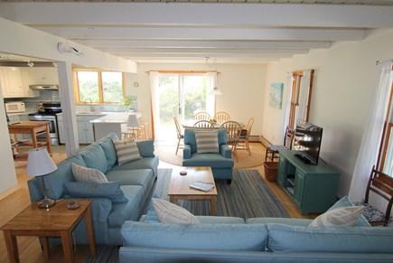 Truro Cape Cod vacation rental - Open Living Area
