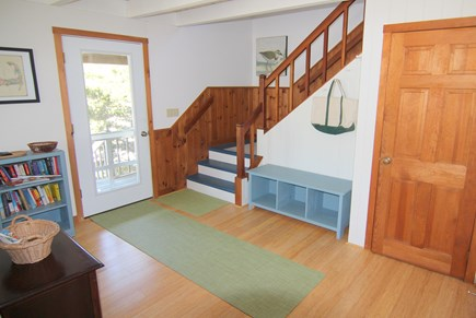 Truro Cape Cod vacation rental - Front Hall