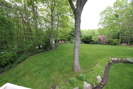 Sandwich Cape Cod vacation rental - Expansive Back yard