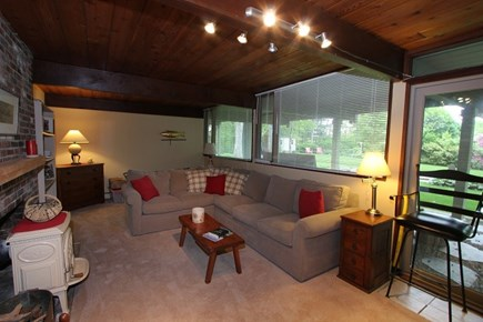 Sandwich Cape Cod vacation rental - Lower Level Living Room