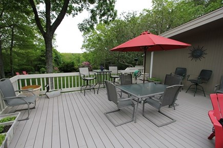 Sandwich Cape Cod vacation rental - Great Deck