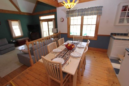Sandwich Cape Cod vacation rental - Kitchen Table