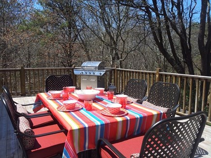 Sandwich Cape Cod vacation rental - Outside Deck w/ Furniture