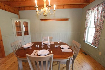 Sandwich Cape Cod vacation rental - Dining Room