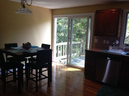 Falmouth Cape Cod vacation rental - Full Kitchen w/ Slider to Deck