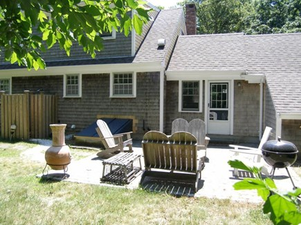 Sandwich Cape Cod vacation rental - Back Patio Area