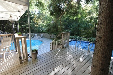 Marstons Mills Marstons Mills vacation rental - Deck with 2 pools