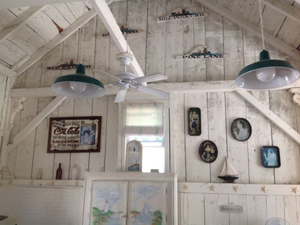 West Harwich Cape Cod vacation rental - High ceilings with lots to look at!