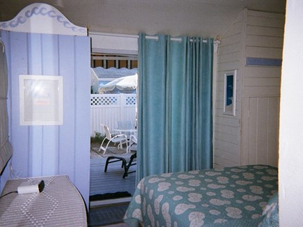 West Harwich Cape Cod vacation rental - Bathroom next to bedroom and kitchen entrance