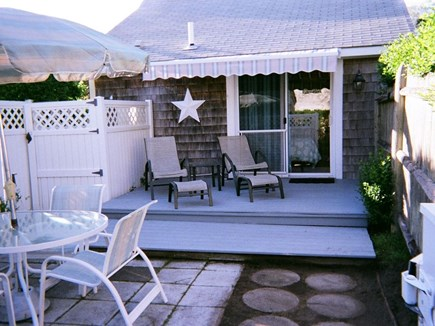 West Harwich Cape Cod vacation rental - Outdoor shower and deck for sunning and reading