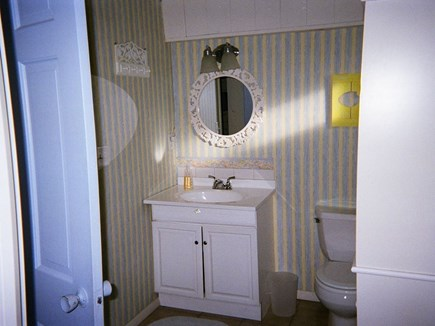 West Harwich Cape Cod vacation rental - Entrance from kitchen to bathroom