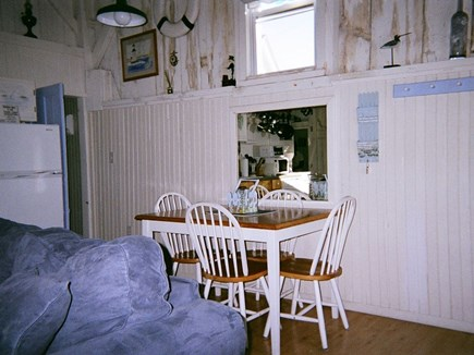 West Harwich Cape Cod vacation rental - Comfortable open eating area
