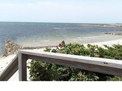 West Harwich Cape Cod vacation rental - Entrance to one of two private beaches