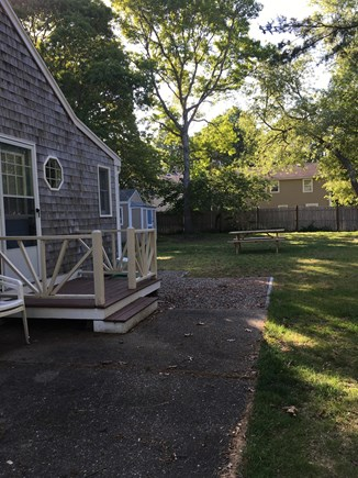 West Yarmouth Cape Cod vacation rental - Large yard for playing and picnics.