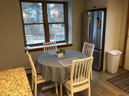 Eastham Cape Cod vacation rental - Kitchen eating area