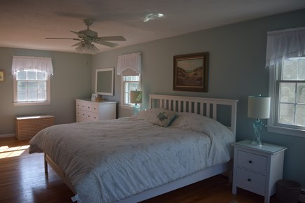 Orleans Cape Cod vacation rental - Master bedroom with king size bed and spectacular water views
