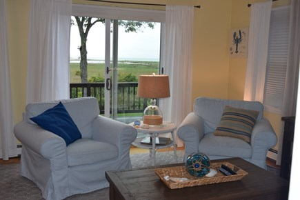 Orleans Cape Cod vacation rental - Sitting area with marsh views