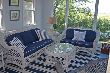 Orleans Cape Cod vacation rental - Sunroom with marsh and bay views