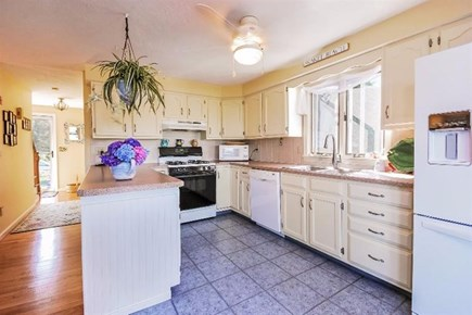 Orleans Cape Cod vacation rental - Kitchen with water views and open to living and dining areas