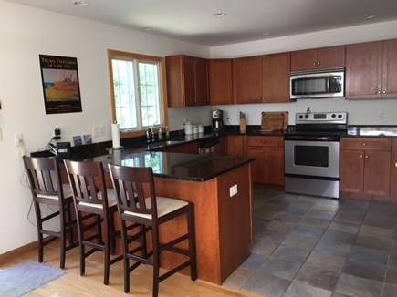 Wellfleet Cape Cod vacation rental - Kitchen with open floor plan