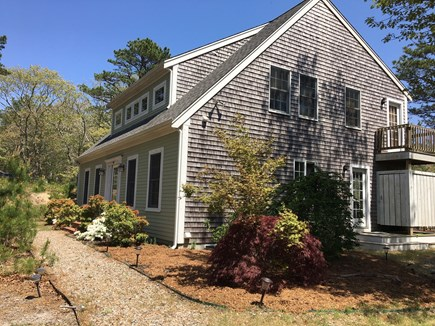 Wellfleet Cape Cod vacation rental - Side view of house with outdoor shower
