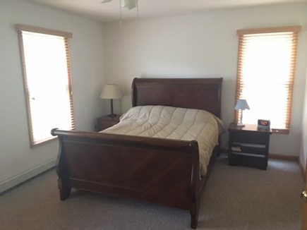 Wellfleet Cape Cod vacation rental - Master bedroom on main level with private bath and walk in closet