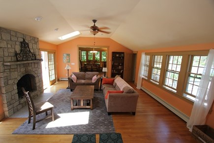 Sandwich Cape Cod vacation rental - Living Room to Dining Area