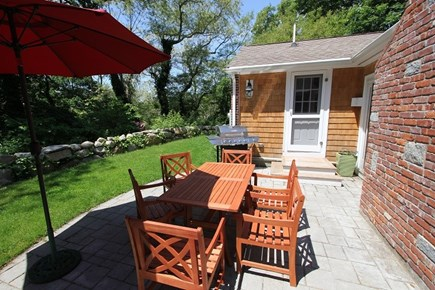 Sandwich Cape Cod vacation rental - Outdoor patio to enjoy dining and relaxing