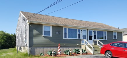 West Dennis Cape Cod vacation rental - Front of house.  The left side of the house is the unit for rent