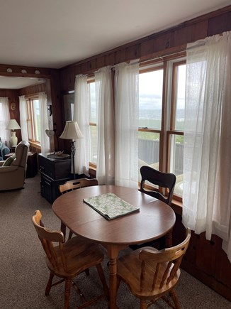 Sagamore Beach Cape Cod vacation rental - Enjoy your meals with a view of the ocean.
