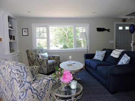 Falmouth, Teaticket Cape Cod vacation rental - Living room with comfortable furnishings