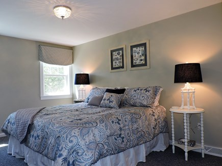 Falmouth, Teaticket Cape Cod vacation rental - Second floor master bedroom with Kin g size bed