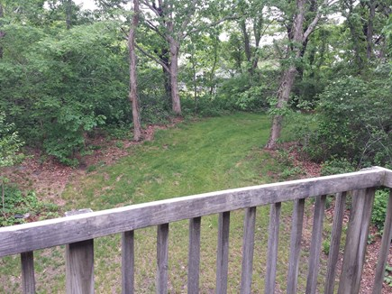 Eastham Cape Cod vacation rental - Deck off bedroom -  spacious back yard
