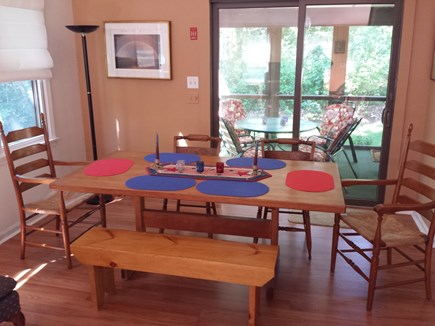 Eastham Cape Cod vacation rental - Large Dining Area