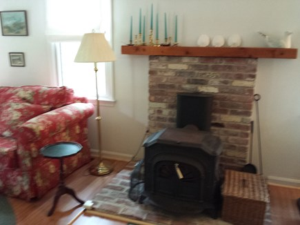Eastham Cape Cod vacation rental - Wood stove