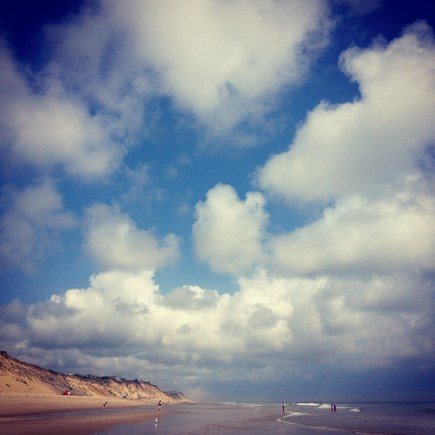Wellfleet Cape Cod vacation rental - LeCount Beach - a mile from the cottage