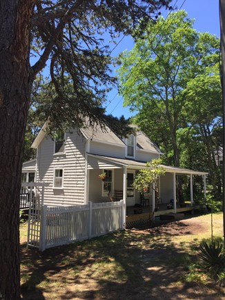 Wellfleet Cape Cod vacation rental - Front Porch - great place to have coffee with the hummingbirds!