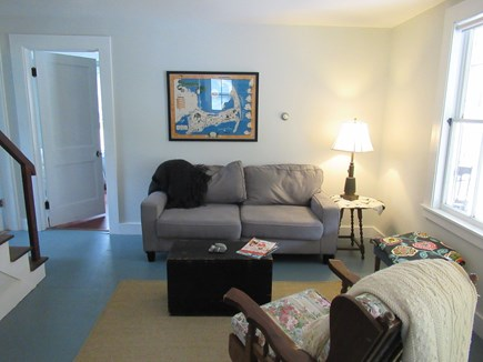 Wellfleet Cape Cod vacation rental - Living room - cozy tv room.