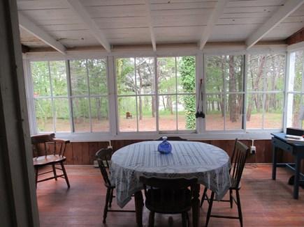 Wellfleet Cape Cod vacation rental - Sun room/Dining room