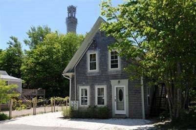 provincetown Cape Cod vacation rental - Front of house, street view.  Monument in the background