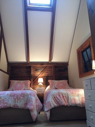 Eastham Cape Cod vacation rental - Bedroom with two twin beds on 2nd Floor.