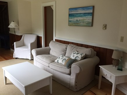 Eastham Cape Cod vacation rental - Cozy and bright Living Room.