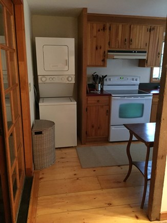 Eastham Cape Cod vacation rental - Washer and dryer conveniently located on 1st Floor.