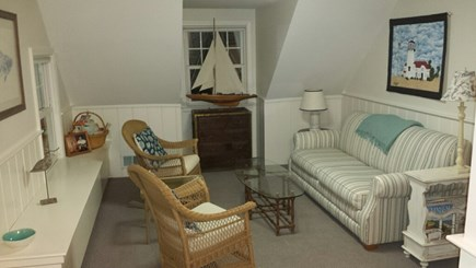South Dennis Cape Cod vacation rental - Upstairs sitting area
